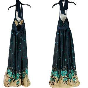 BCBG Halter Style Stunning glamour maxi dress